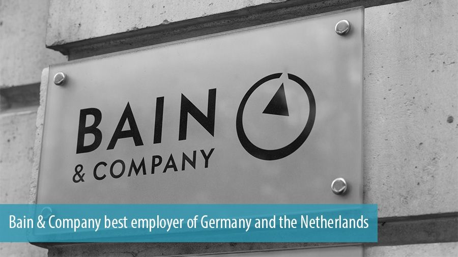 Bain & Company best employer of Germany and the Netherlands