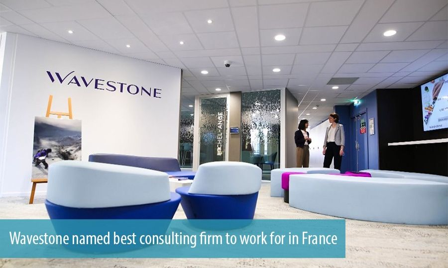 Wavestone named best consulting firm to work for in France