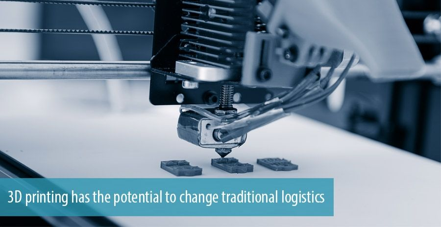 3D printing in logistics