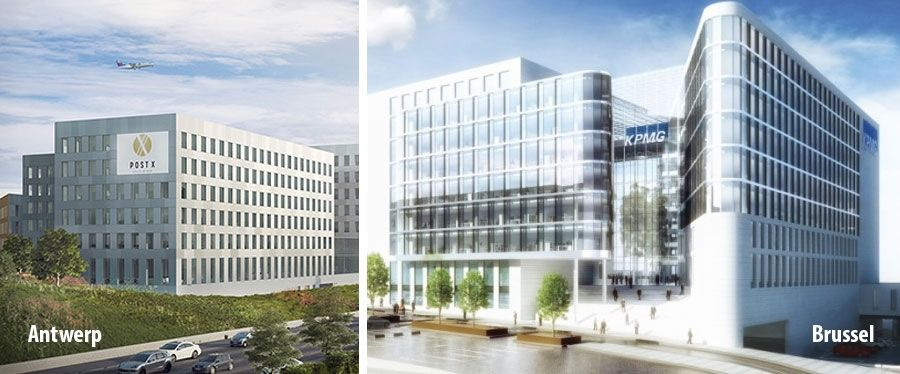 KPMG Belgium moves into new offices in Antwerp and Brussels