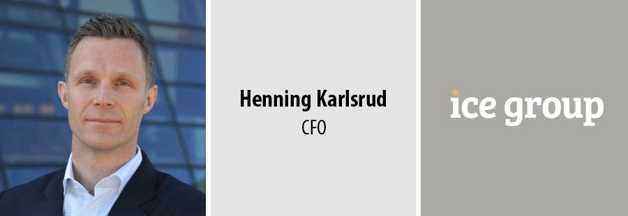 Henning Karlsrud, CFO, ICE Group