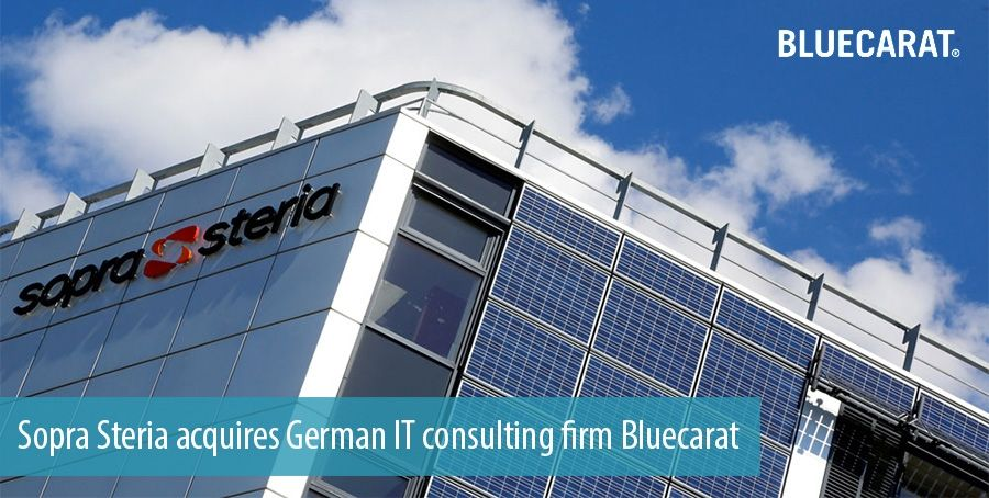Sopra Steria acquires German IT consulting firm Bluecarat