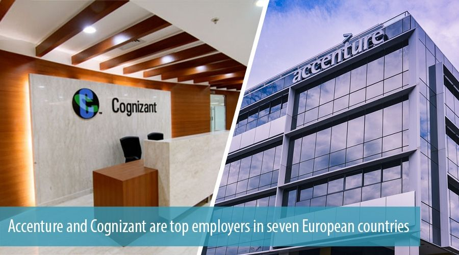 Accenture and Cognizant are top employers in seven European countries