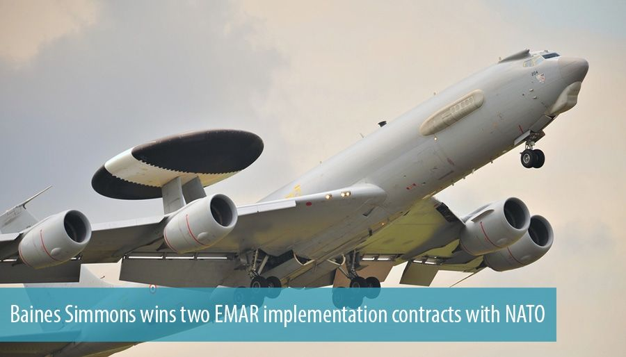 Baines Simmons wins two EMAR implementation contracts with NATO