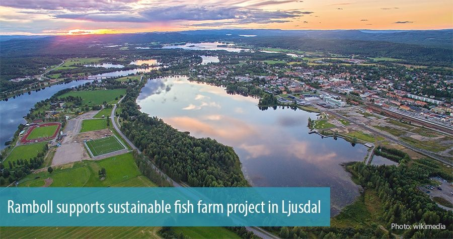 Ramboll supports sustainable fish farm project in Ljusdal