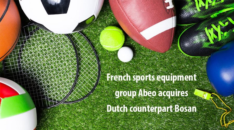 French sports equipment group Abeo acquires Dutch counterpart Bosan