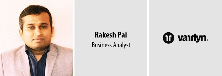 Rakesh Pai, Business Analyst - varrlyn