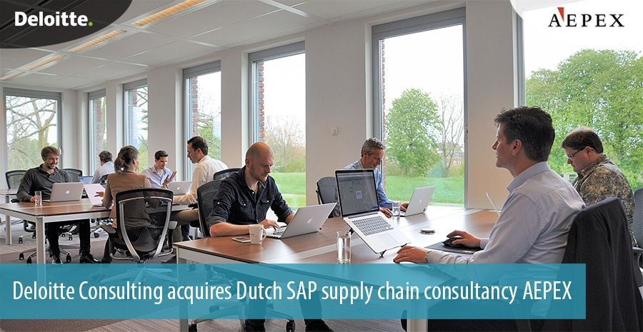 Deloitte Consulting acquires Dutch SAP supply chain consultancy AEPEX