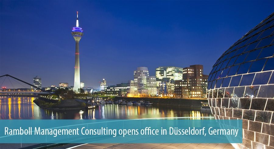Ramboll Management Consulting opens office in Düsseldorf, Germany