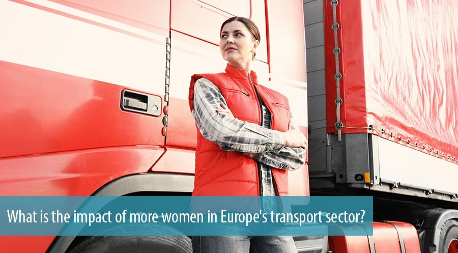 What is the impact of more women in Europe's transport sector?