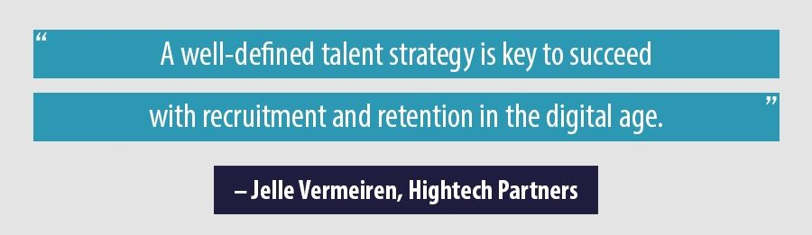 Quote Jelle Vermeiren, Hightech Partners