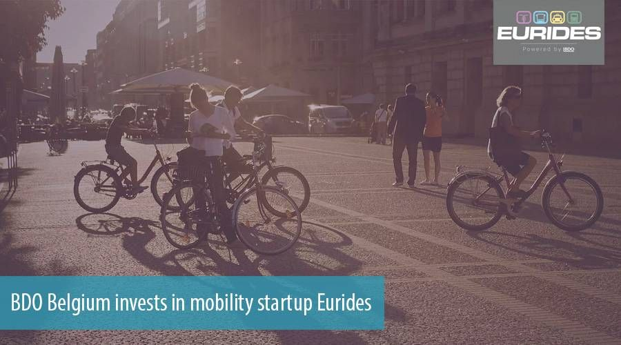 BDO Belgium invests in mobility startup Eurides