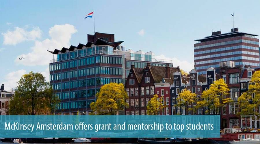 McKinsey Amsterdam offers grant and mentorship to top students