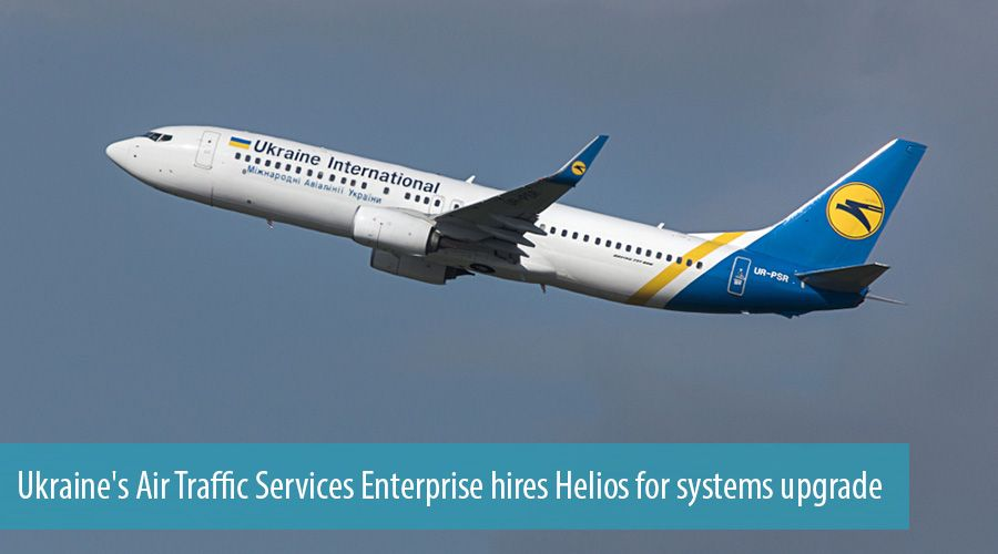 Ukraine's Air Traffic Services Enterprise hires Helios for systems upgrade