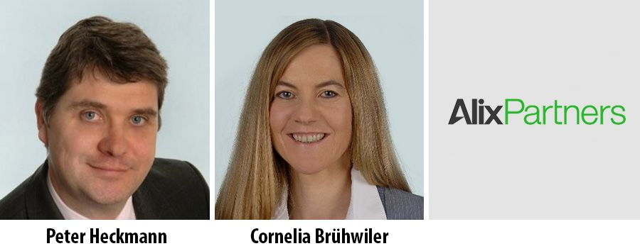 Peter Heckmann and Cornelia Brühwiler - AlixPartners