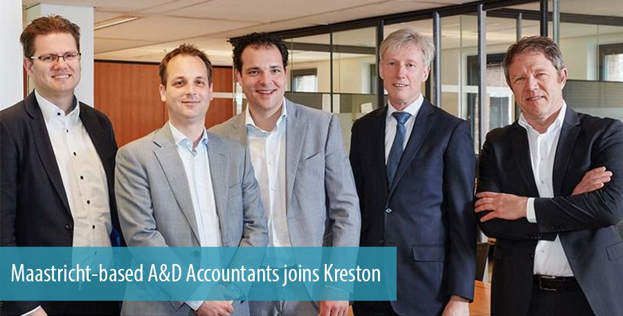 Maastricht-based A&D Accountants joins Kreston