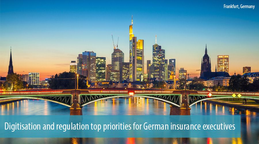 Digitisation and regulation top priorities for German insurance executives
