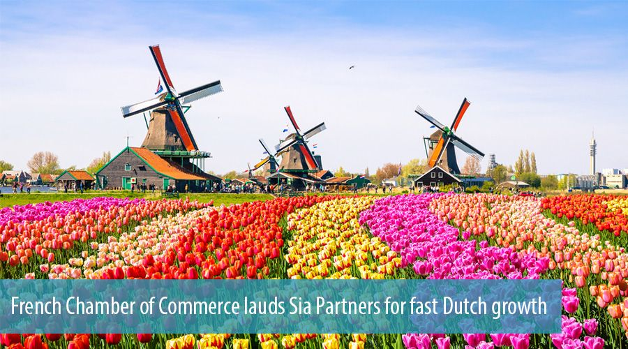 French Chamber of Commerce lauds Sia Partners for fast Dutch growth