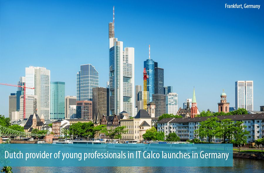 Dutch provider of young professionals in IT Calco launches in Germany