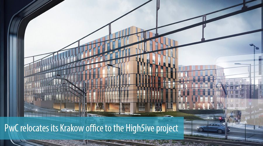 PwC relocates its Krakow office to the High5ive project