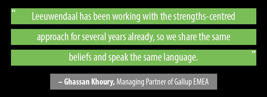 Quote Ghassan Khoury, Managing Partner of Gallup EMEA