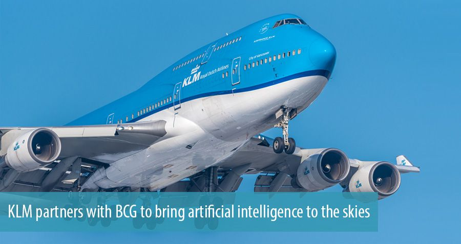 KLM partners with BCG to bring artificial intelligence to the skies