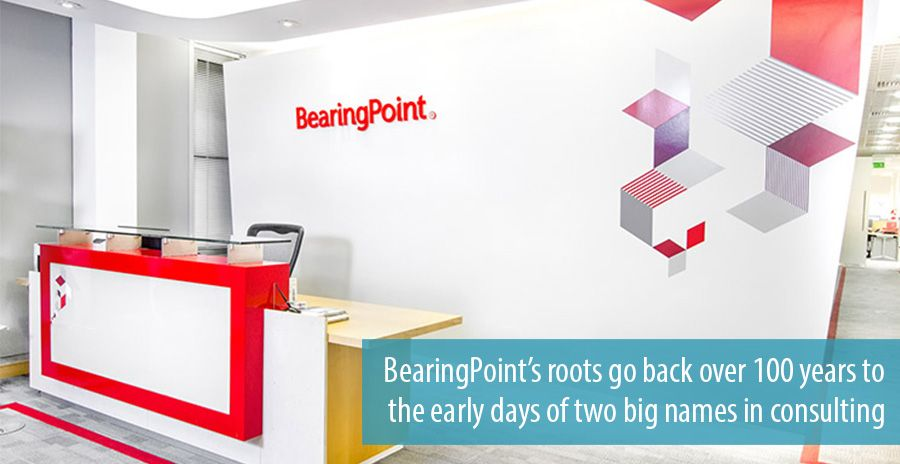 BearingPoint's roots go back over 100 years to the early days of two big names in consulting