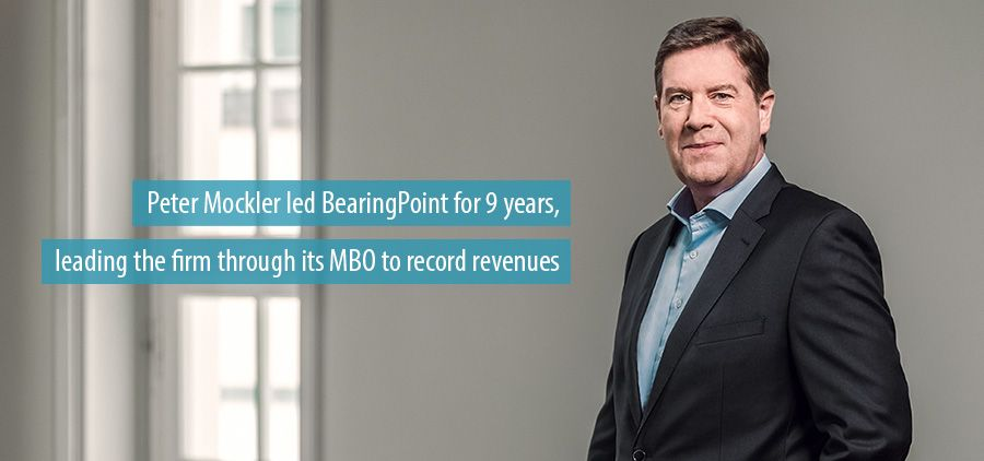 Peter Mockler led BearingPoint for 9 years