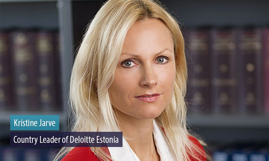 Kristine Jarve appointed the new Country Leader of Deloitte in Estonia