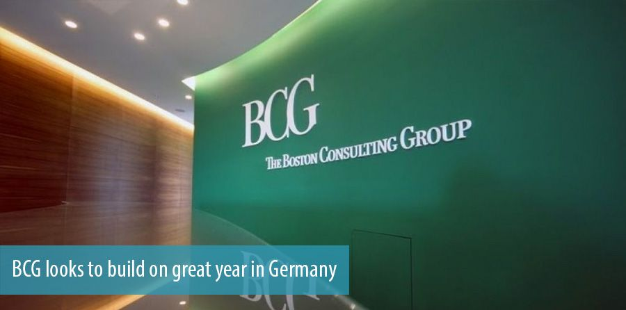 BCG looks to build on great year in Germany
