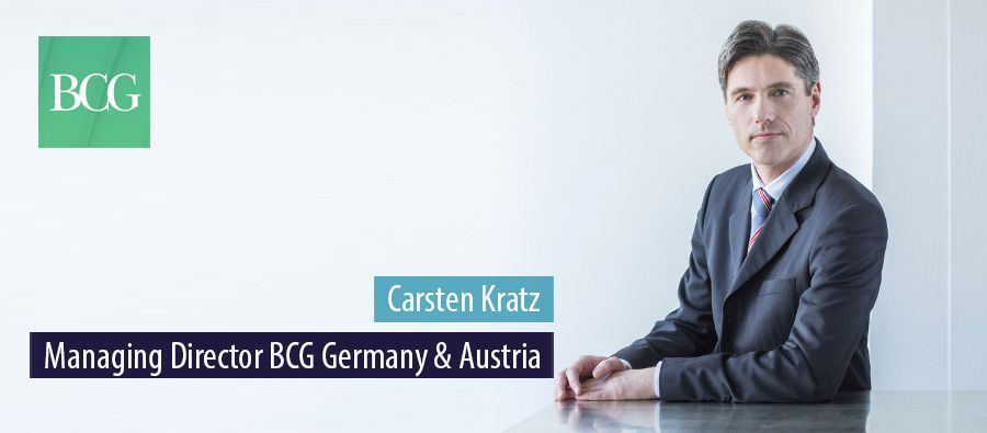 Carsten Kratz, Managing Director BCG Germany & Austria