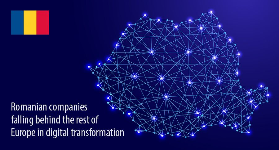 Romanian companies  falling behind the rest of Europe in digital transformation