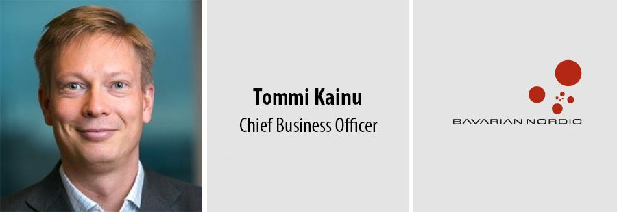 Tommi Kainu, Chief Business Officer - Bavarian Nordic