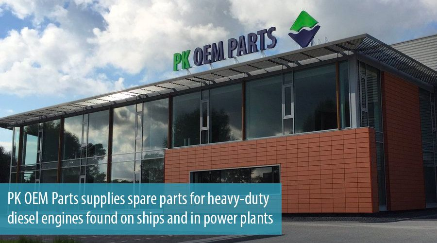 PK OEM Parts supplies spare parts for heavy-duty diesel engines found on ships and in power plants