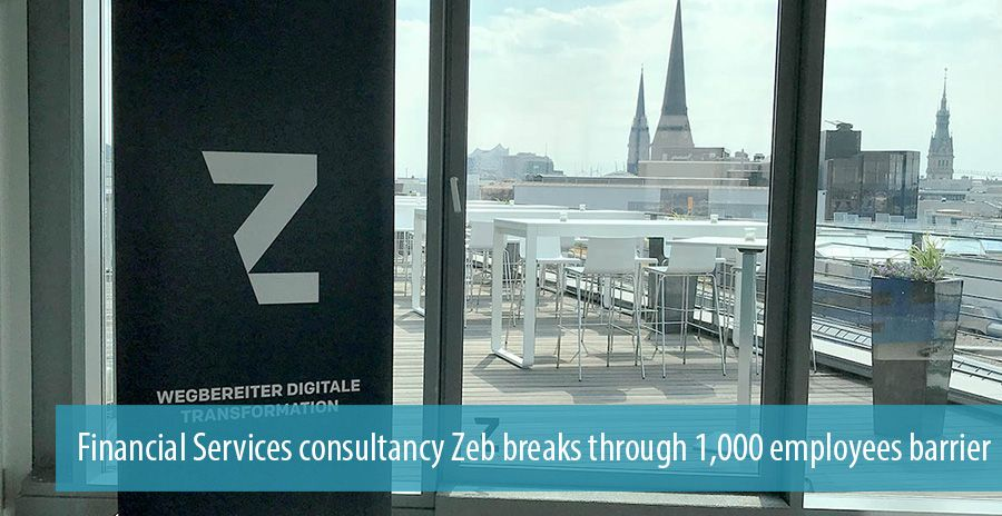 Financial Services consultancy Zeb breaks through 1,000 employees barrier