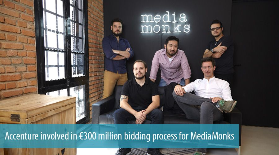 Accenture involved in €300 million bidding process for MediaMonks