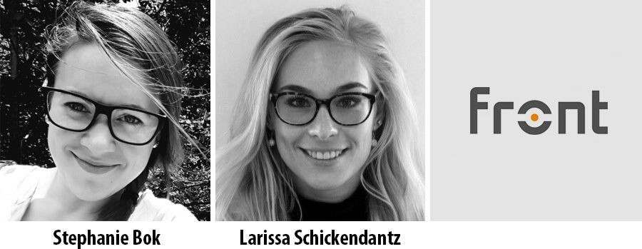 Stephanie Bok and Larissa Schickendantz - FRONT Consulting