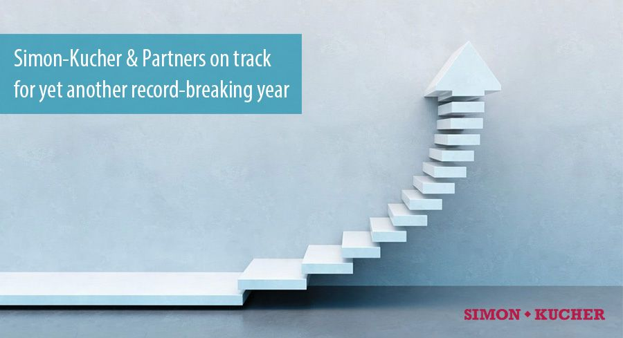 Simon-Kucher & Partners on track for yet another record-breaking year