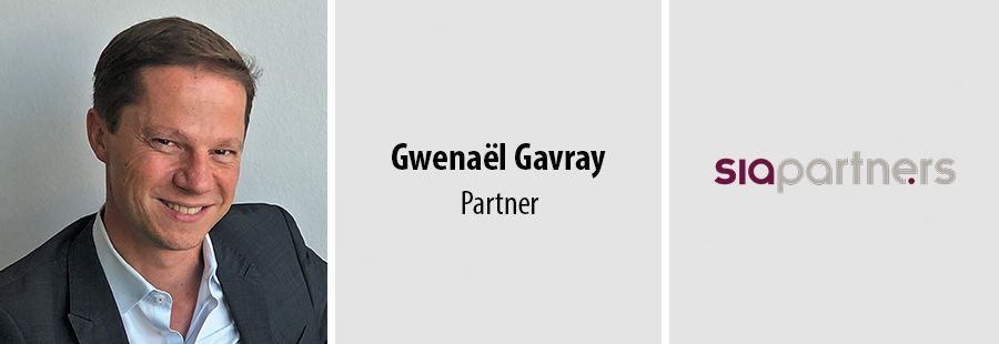 Gwenaël Gavray joins Sia Partners in Luxembourg as a partner