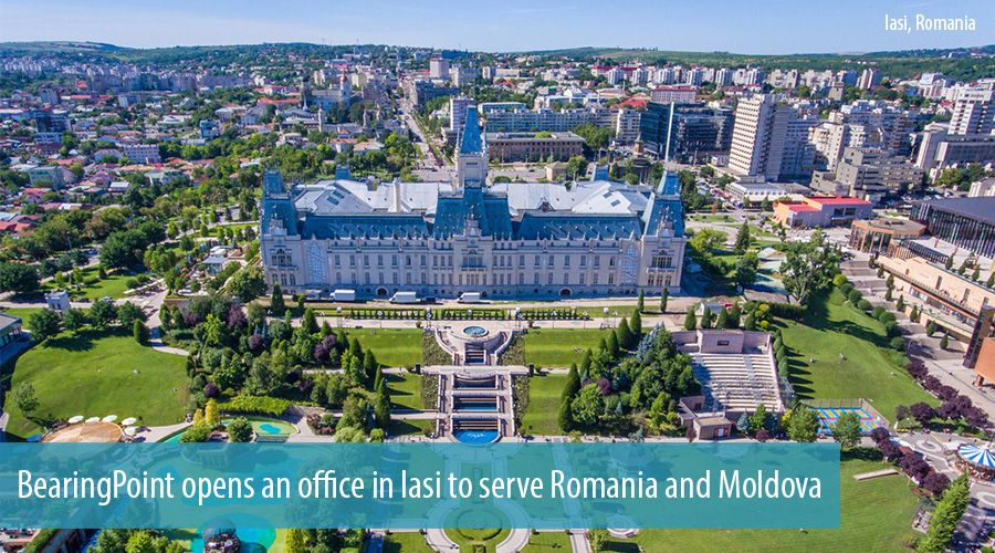 BearingPoint opens an office in Iasi to serve Romania and Moldova