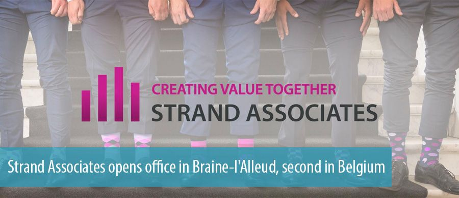 Strand Associates opens office in Braine-l'Alleud, second in Belgium