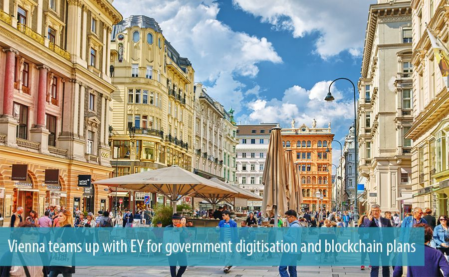Vienna teams up with EY for government digitisation and blockchain plans