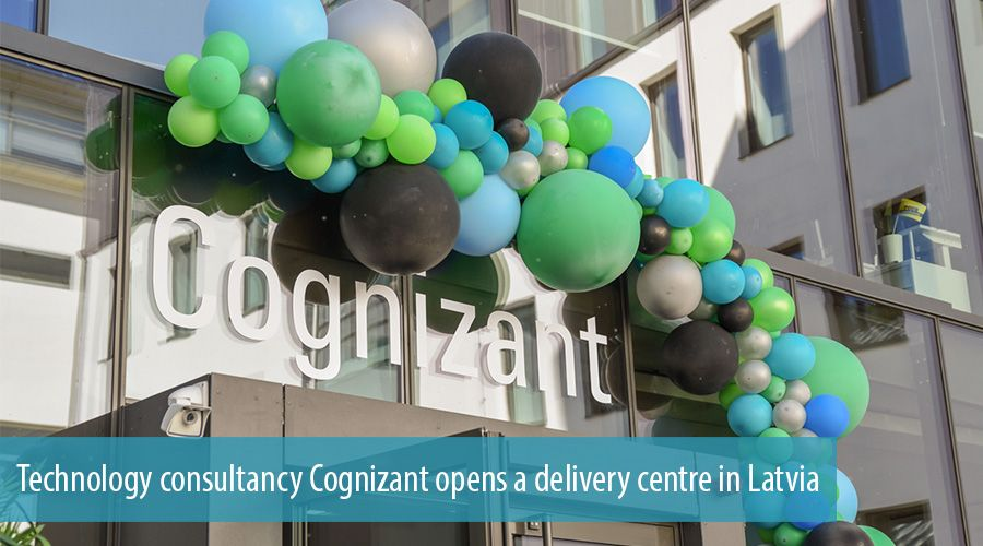 Technology consultancy Cognizant opens a delivery centre in Latvia