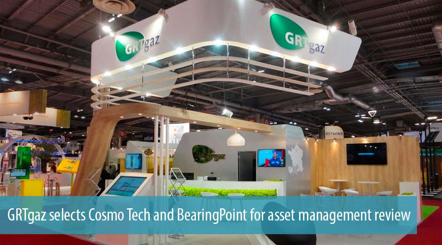 GRTgaz selects Cosmo Tech and BearingPoint for asset management review