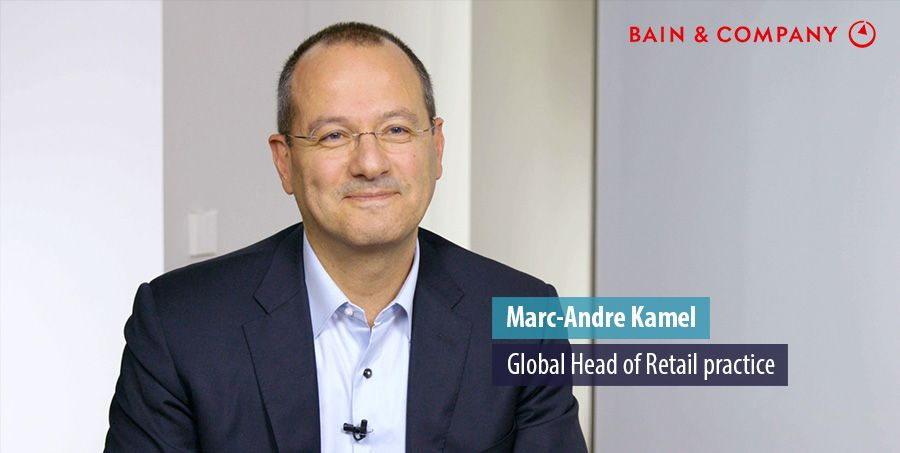 Paris-based partner Marc-André Kamel leads Bain's global Retail practice