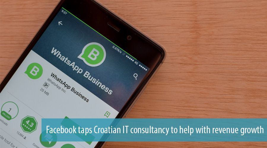 Facebook taps Croatian IT consultancy to help with revenue growth