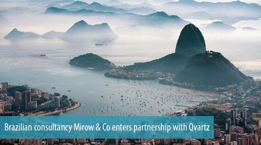 Brazilian Consultancy Mirow Co Enters Partnership With Qvartz