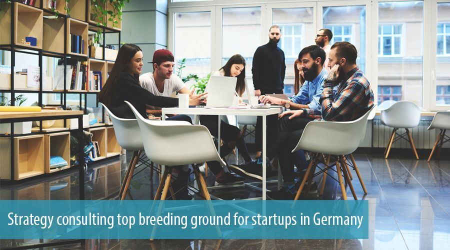 Strategy consulting top breeding ground for startups in Germany