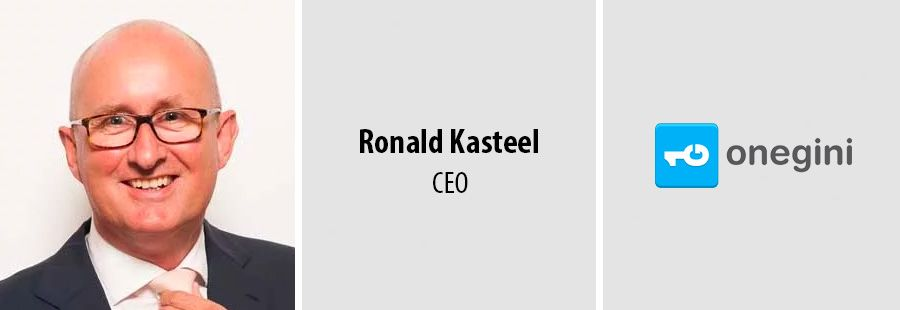 Ronald Kasteel joins Onegini to lead international expansion drive