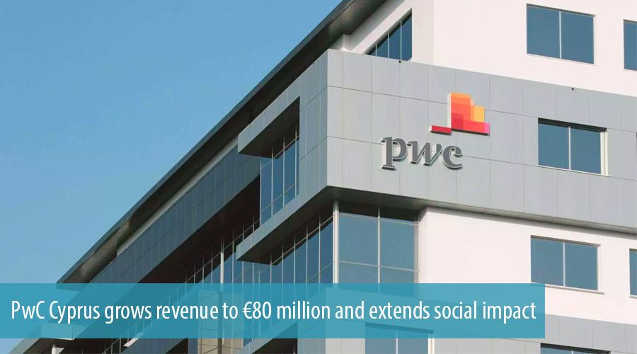 PwC Cyprus grows revenue to €80 million and extends social impact